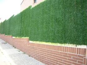 Seto verde artificial para vallas y jardines - Setos para vallas ...